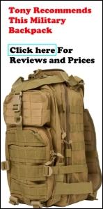 Military Bag Ad