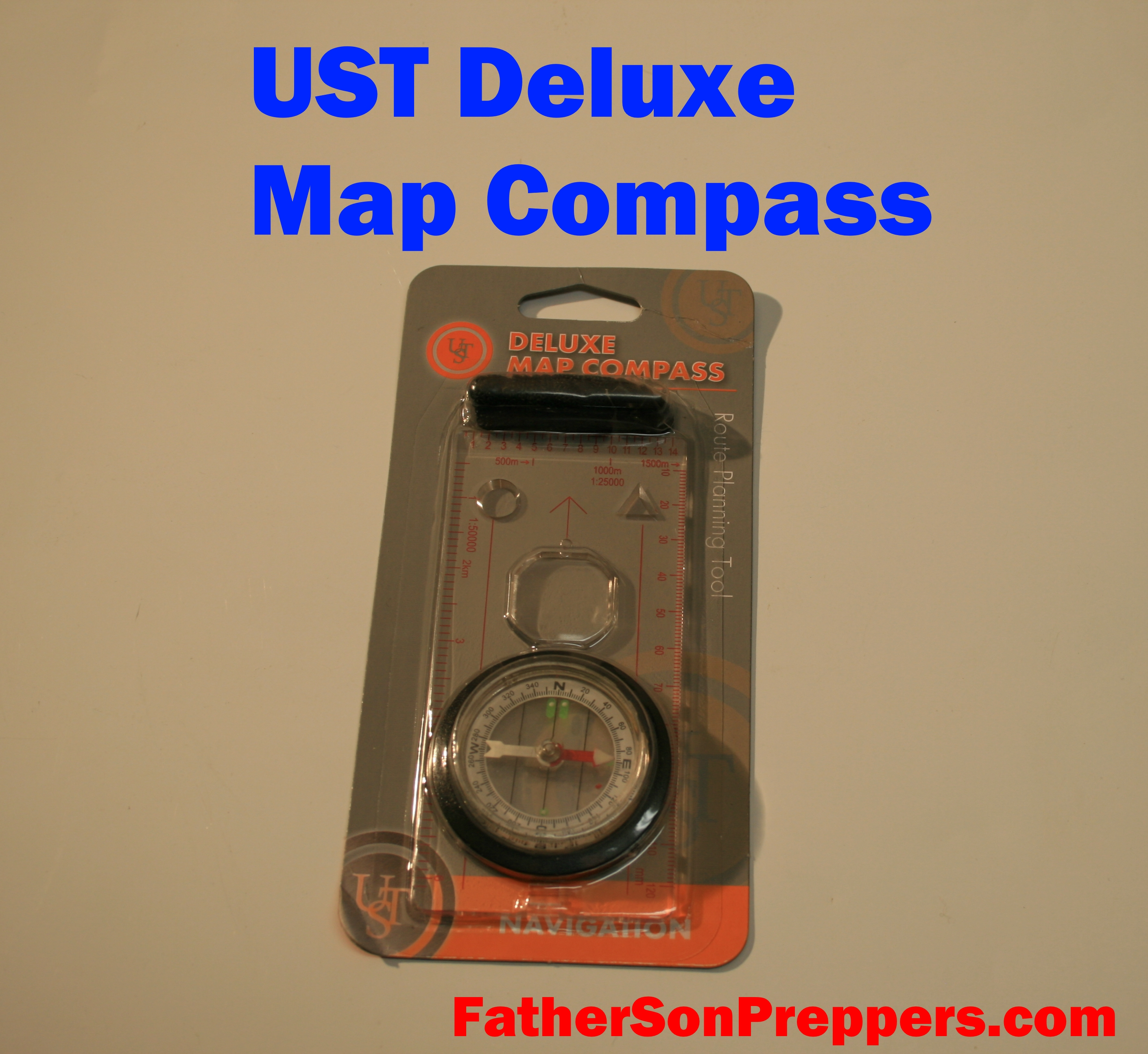 UST deluxe map compass main